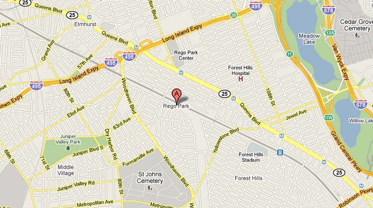 Astoria Map